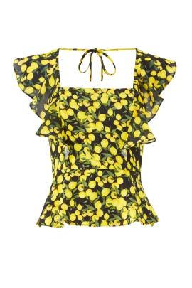 Lemon Jess Combo Top by Parker
