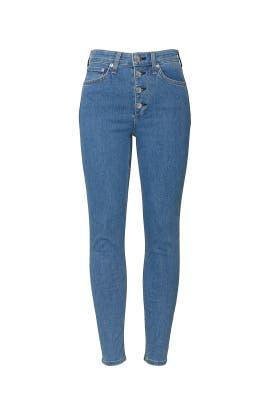 Montana Nina High Rise Skinny Jeans by rag & bone JEAN