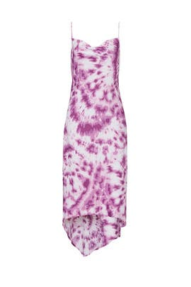 Tie Dye Cowl Neck Dress by BCBGeneration