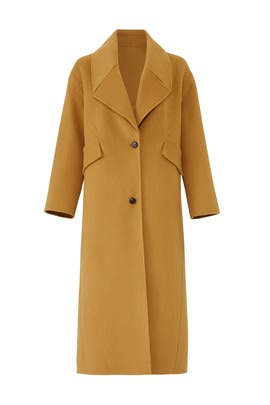 Camel Ball Coat by ba&sh