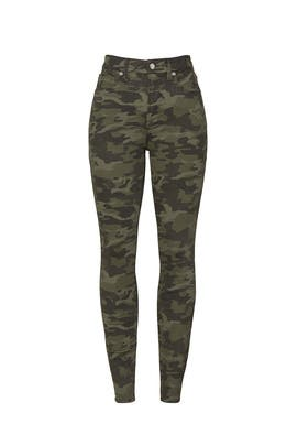 Camo Good Waist Jeans by GOOD AMERICAN