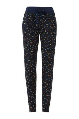 Blue Leo Morgan Joggers by Just Female
