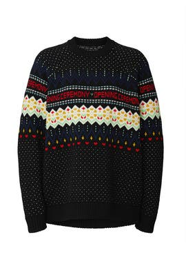 Fairisle Sweater by Opening Ceremony