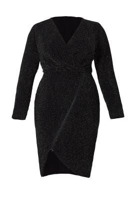 Black Silver Sparkle Dress by Rachel Rachel Roy