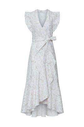 Sleeveless Zadie Wrap Dress by Rebecca Taylor