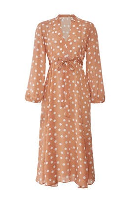Polka Dot Midi Dress by byTiMo