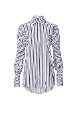 Smock Sleeve Shirt by Victoria Victoria Beckham