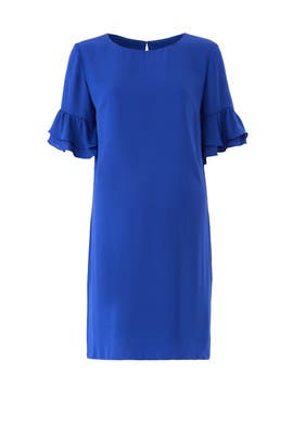 Ruffle Sleeve Maternity Dress by Amanda Uprichard