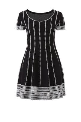 Short Sleeve Sweater Dress by Alexia Admor