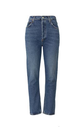 Riley Straight Crop Jeans by AGOLDE