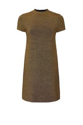 Metallic Mod Dress by Milly