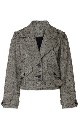 Grey Short Jacket by Marissa Webb Collective