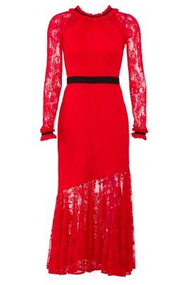 Split Tease Dress by Three Floor