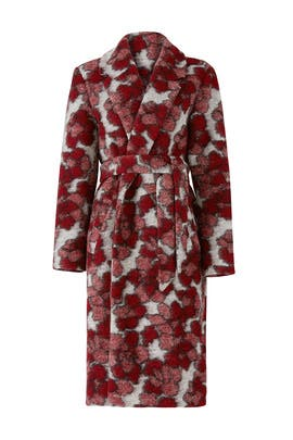 Red Kat Coat by Hutch