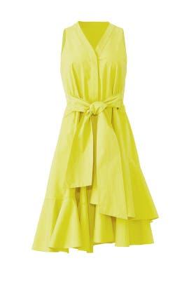Citron Sleeveless Dress by Josie Natori