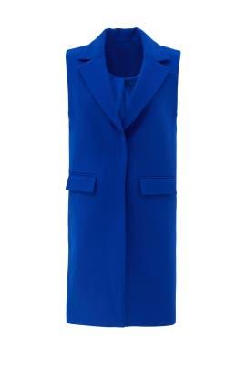 Royal Blue Vest by Milly