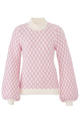 Pink Carlo Sweater by STINE GOYA