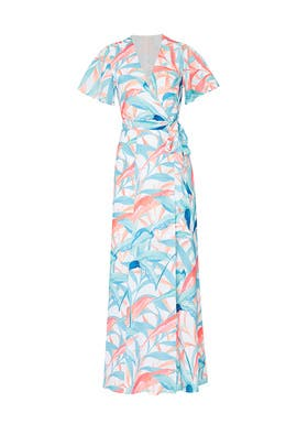 Palm Printed Kiera Maxi by Slate & Willow