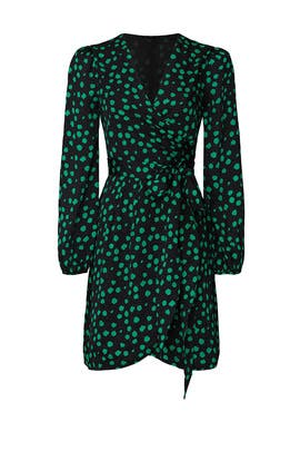 Rocky Wrap Dress by Cynthia Rowley