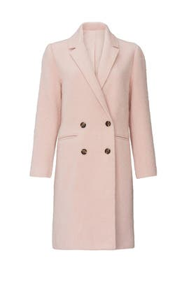 Pink Effie Coat by cupcakes and cashmere