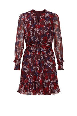 Floral Smocked Peasant Dress by Draper James