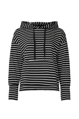 Striped Hoodie by Caslon