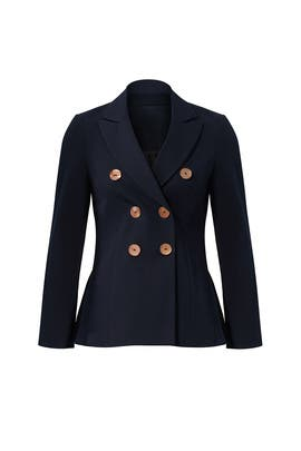 Blue Button Jacket by Derek Lam 10 Crosby