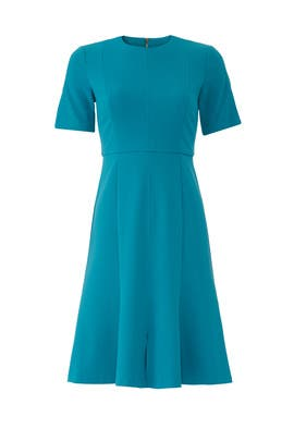Blue Flare Dress by Donna Morgan