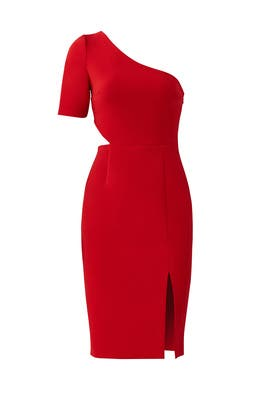 Cardinal Cutout Sheath by Jill Jill Stuart