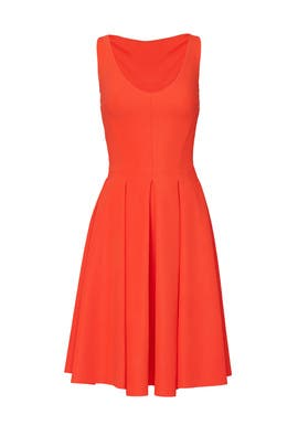 Orange Corie Dress by La Petite Robe di Chiara Boni