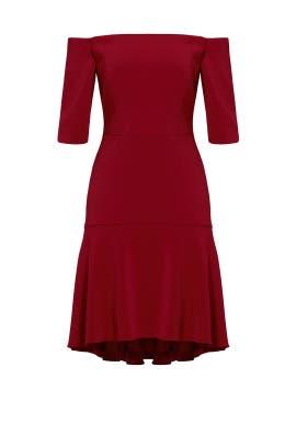 620e5b4cbf9 Bordeaux Italian Cady Nina Dress by Milly for  70