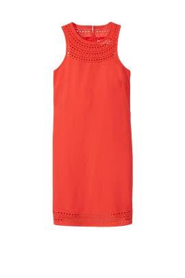 Coral Cutout Dress by Trina Turk