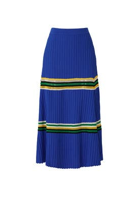 Saint Anne Ribbed Skirt by Wales Bonner