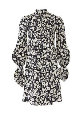 Poppy Floral Shirtdress by DEREK LAM