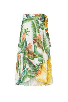Azalea Forest Midi Skirt by FARM Rio