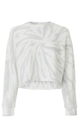 Shrunken Tie Dye Sweatshirt by Madewell