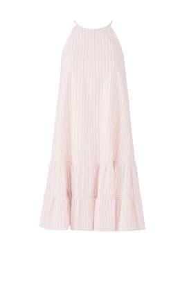 Pink Stripe Tank Dress by Rebecca Taylor