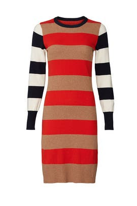 Multi Striped Sweater Dress by Scotch & Soda