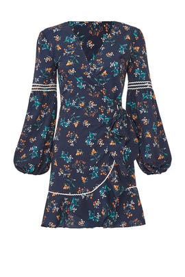 Skyward Wrap Dress by The Fifth Label