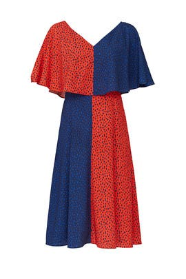 Bicolored Handkerchief Dress by Derek Lam Collective