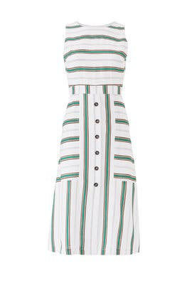 Button Front Midi Dress by J.O.A.