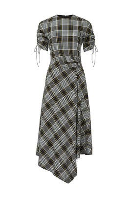 Plaid Handkerchief Dress by Jonathan Simkhai