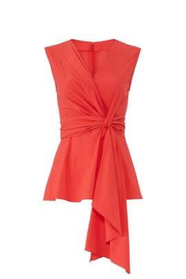 Knotted Sleeveless Top by Josie Natori