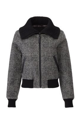 Alivia G Plaid Bomber by Mackage