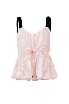 Pink Stripe Jess Top by Sabina Musayev