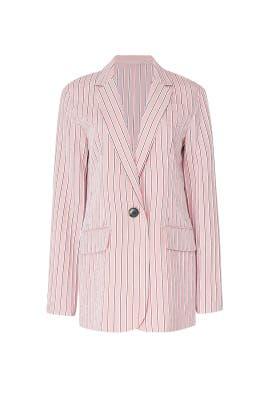 Pink Oversized Blazer by Tibi