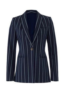 Navy Lauren Blazer by AMUR