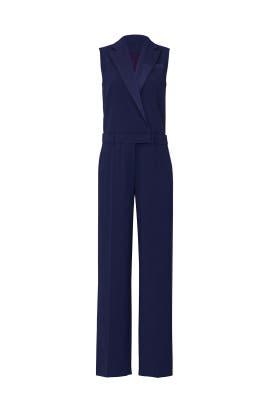 Navy Tuxedo Jumpsuit by Jason Wu