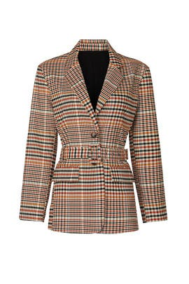 Plaid Blazer by Love, Whit by Whitney Port