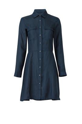 Navy Shirtdress by Scotch & Soda